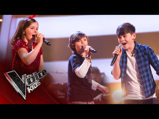 Jude, Tilly, Jack - 'Place Your Hands': Battles | The Voice Kids UK 2017