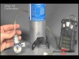 MSA Altair 4 Fresh Air Setup Calibration