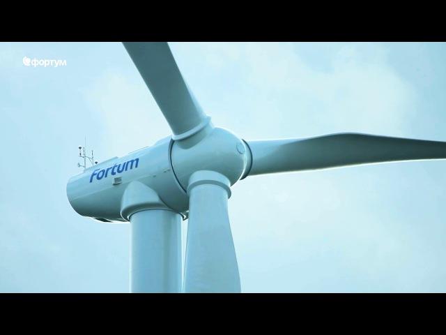 В Ульяновском ветропарке установлены 14 ветрогенераторов