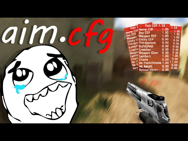 AIM CONFIG by CHEATER CS 1.6 NO RECOIL, AIRSHOT (download free)