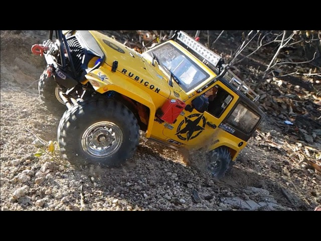MST CFX Jeep Rubicon Gaya Off-Road Adventure
