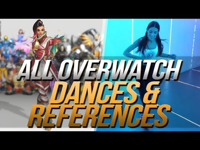 Overwatch Dances | Music Reference | Side by Side | All Heroes
