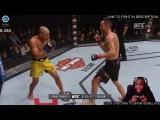 Стример притворялся, что играет в UFC, пока показывал платную трансляцию UFC-матча.