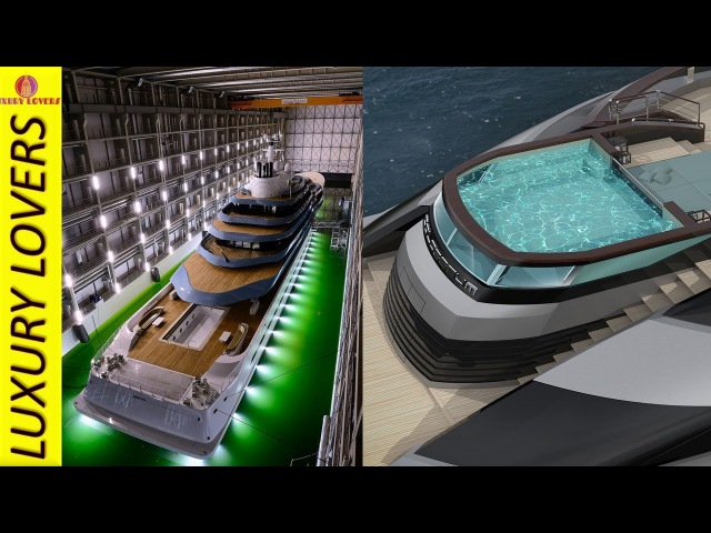 Iconic Yachts : Oceanco greatest superyacht / megayacht designs and concepts PART 5