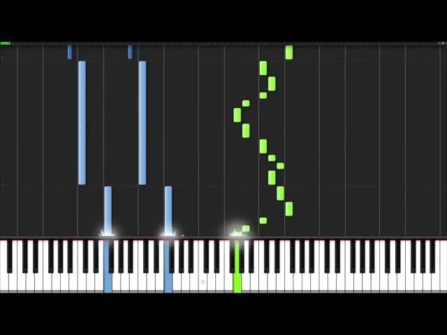 Мелодия на пианино из аниме Хвост Фей