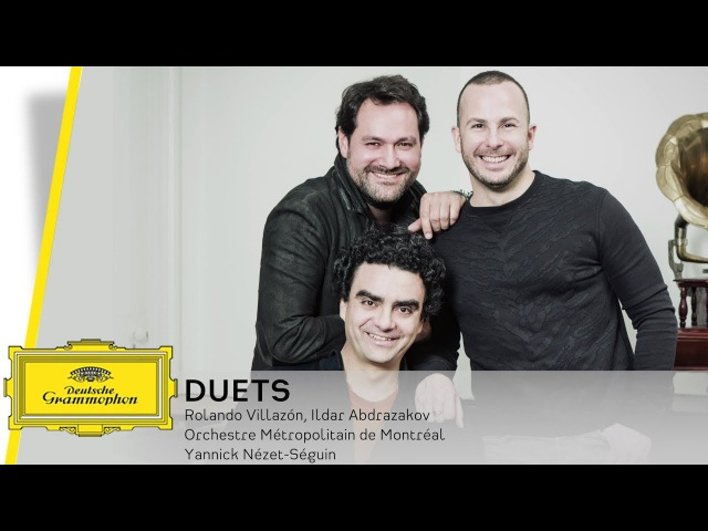 Rolando Villazón, Ildar Abdrazakov und Yannick Nézet-Seguin - How the album came about (Interview)