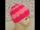 Вязание женской шапки. Пэчворк спицами. Красивая шапка спицами. Cap of patchwork