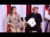 Daisy Ridley, Rian Johnson, Kelly Marie Tran &amp Domhnall Gleeson 'The Last Jedi' QnA (2017)