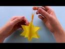 Sterne basteln mit Papier - Einfache Weihnachtssterne falten - DIY Weihnachtsdeko