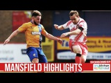 HD HIGHLIGHTS  Stevenage 0-1 Mansfield  League Two 20162017