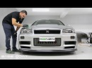 Original Nismo Z-Tune Nissan R34 GTR - Chassis 001 - Detailing Perfection IGL Kenzo Ceramic Coating