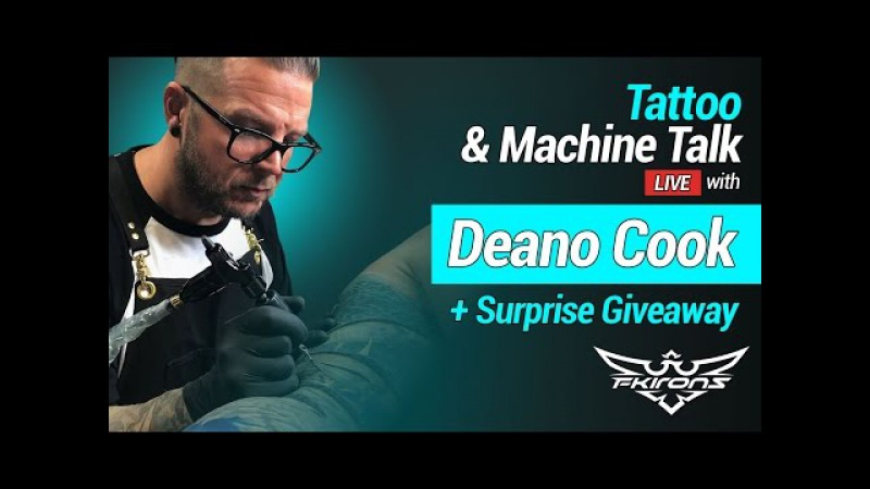 Tattoo Machine Talk with Deano Cook Surprise Giveway