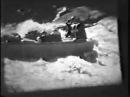 Сплав на плотах по реке Уба, порог БУП Большие Убинские пороги, 1970-е годы