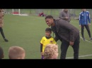 Chuba Akpom revisits his football roots at Rippleway FC