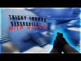 TRICKY INSANE QUADROKILL WITH GLOCK (5FRAGS AT)