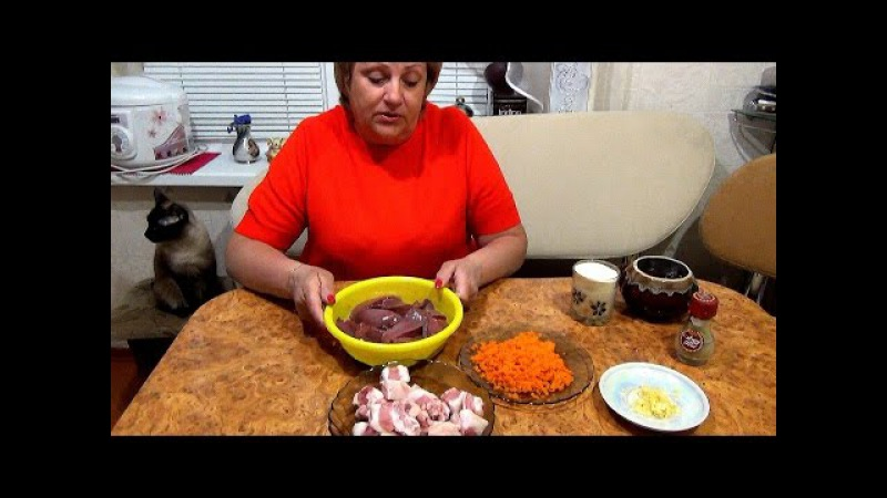 Рулет из печени с салом, морковкой, чесноком и манкой. Очень вкусно.