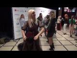 Прикол на Estet Fashion Week от Марины Соболевой -