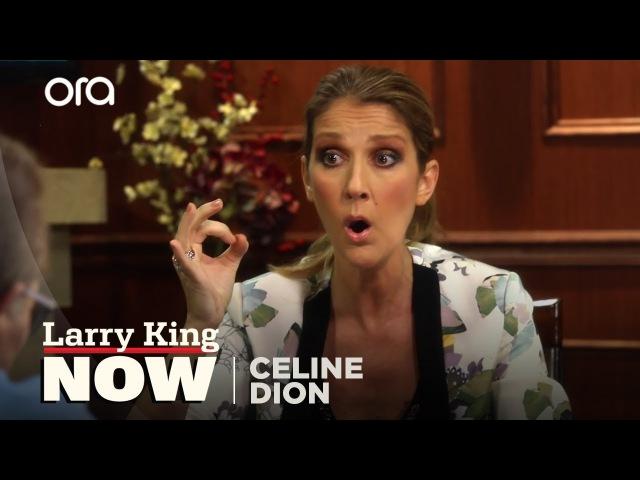 Celine Dion Shows Larry Her Vocal Warm Ups