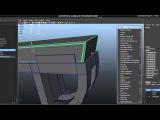 Tutorial Recreating Pixar's Wall-e in High Poly using Maya 2012 Part 2-4