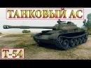 Т-54 ТАНКОВЫЙ АС / ТОПЬ WORLD OF TANKS