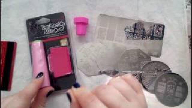 Стемпинг - секреты для новичка, как быстро и легко научиться украшать маникюр с п...