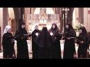 Концерт сестринского хора Свято Елисаветинского монастыря в Англии и Ирландии