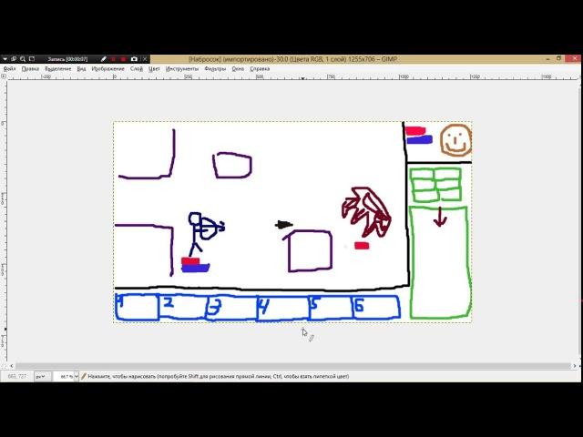 Пишем свою RPG игру на Python. Часть 3: Учим персонажа ходить и умирать