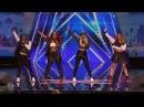 America's Got Talent 2016 Good Girl Mel B Girl Band Full Audition Clip S11E03