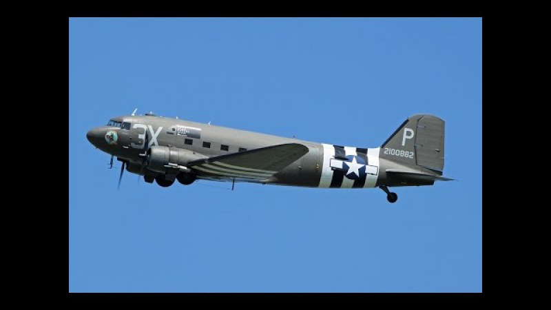 Знаменитые самолеты Серия 7 Douglas C 47 Dakota Skytrain