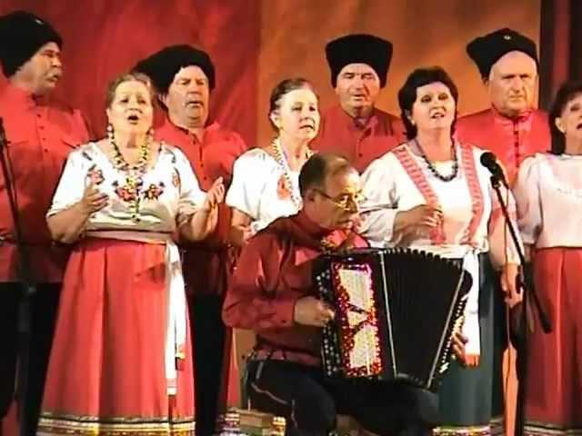 07 Берёзка Русский вальс Челбасский народный казачий хор 2012г 06 12