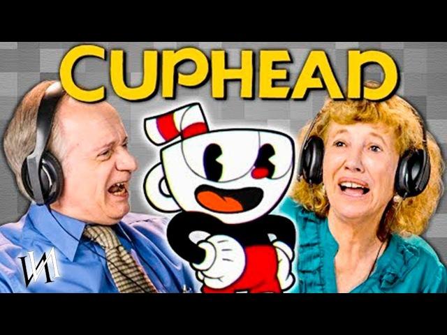 Реакция стариков на игру CUPHEAD / Иностранцы пенсионеры играют в игруху Капхед [ИндивИдуалист]