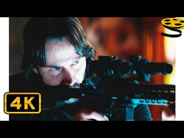 Джон Уик покупает Оружие и Костюм с Защитными Пластинами | Джон Уик 2 | 4K ULTRA HD