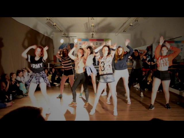 K PARTY IN DA MDS 14 05 17 Black Princess k-pop cover dance TWICE