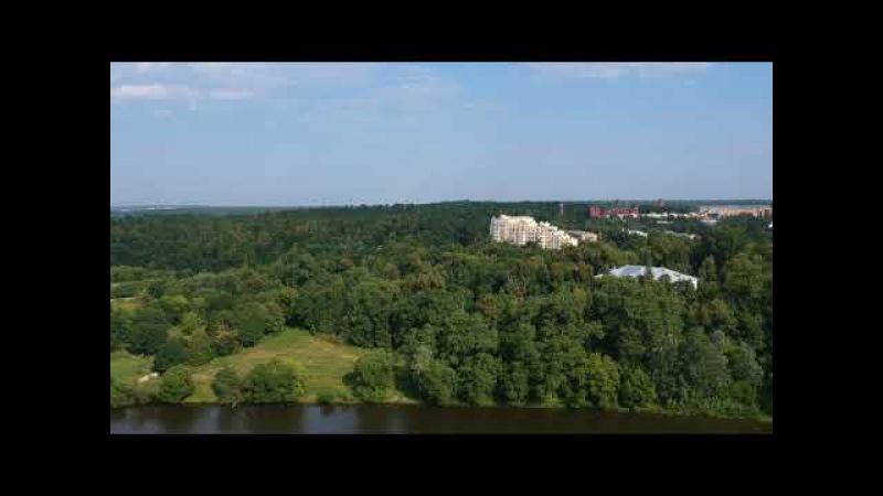 Петрово-Дальнее, Знаменское и окрестности с DJI Spark