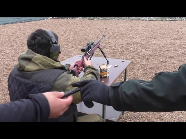 Стрельба из ВПО 222 и ВПО 223