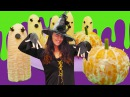MonsterHigh bebekleri ile Cadılar Bayramı 👻🎃. Sevcan Halloween yiyecekleri yapıyor! KIZOYUNLARI