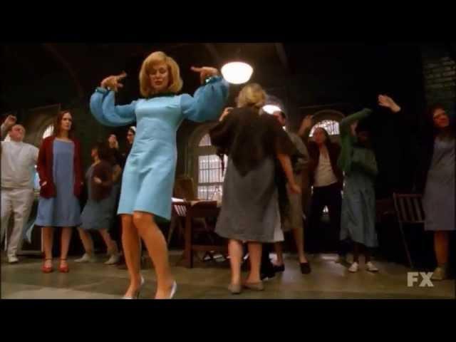 American Horror Story: Asylum 2x10 The Name Game Song - Jude, Kit, Lana Singing Dancing Scene HQ