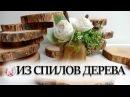 💗 Идеи для квартиры из спилов дерева – декор стен и зеркал, мебель из слэба, панно, аксессуары