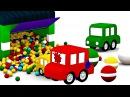 Compilation 50 min de dessins animés pour enfants de 4 voitures et Flippy