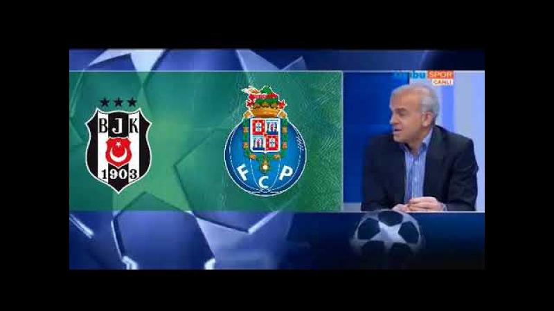 Beşiktaş 1-1Porto Ali Ece, Nihat Kahveci ve Oğuz Çetinin Maç Sonu Yorumları TEK PARÇA