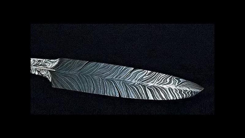 Как делают булат мастера оружейники из Златоуста, сверхпрочные булатные клики