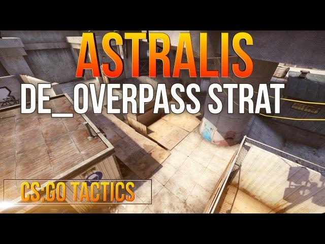 CS:GO Tactics : Astralis de_overpass B - Execution
