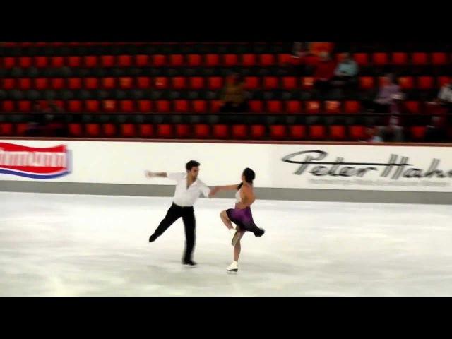2012 Nebelhorn Trophy - Sara Hurtado Adria Diaz FD