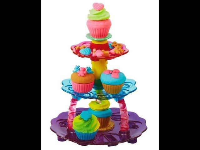 DIY Play Doh | Play-Doh Башня из кексов PLAY-DOH Tower of cupcakes