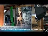 Bravo Models Media - Prague - photo shoots backstages - porn model FLORANE RUSSEL - 05