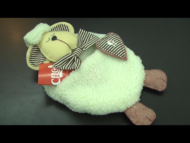 Cibélia Alves ensina a fazer uma ovelha porta recados em Feltro - Passo a passo.