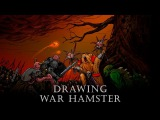 Drawing war hamster