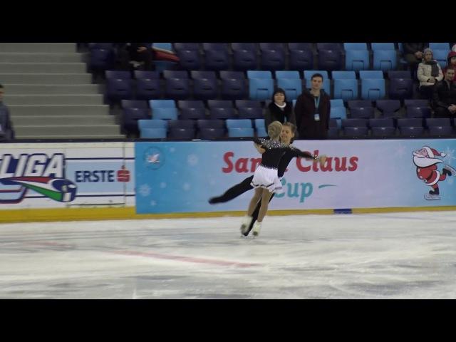 2017 Santa Claus Cup Anna RUMAK-Gleb GONCHAROV(RUS)-ID NON ISU BACIS NOVICE,Fourteenstep