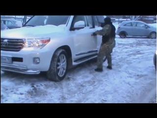 СОБР сломал ОХУЕ*ШЕГО быка на Toyota Land Cruiser 200
