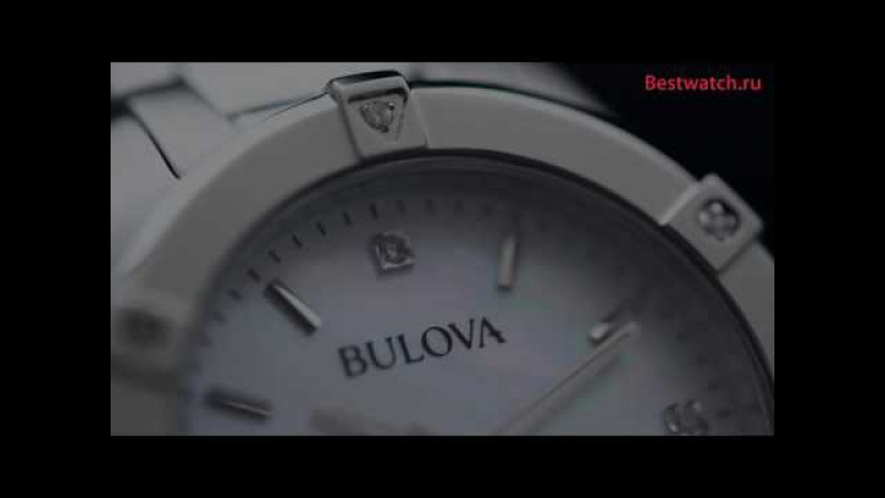 Обзор кварцевых часов Bulova 96W205